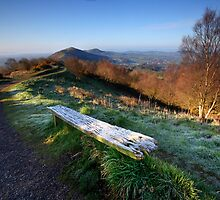 Malvern Hills: Lingering Frost by Angie Latham