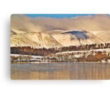 The Ochil Hills, Scotland. Canvas Print