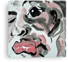 face 2011 Canvas Print