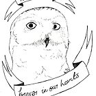 Hedwig, Forever in our Hearts by dianneohdeer
