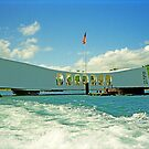 Arizona Memorial, Pearl Harbor, Honolulu, Hawaii by TonyCrehan