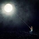 Moon Fishing by korinrochelle