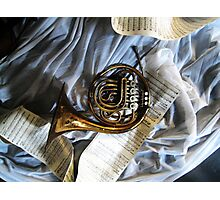 French Horn Magic Photographic Print