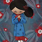 &quot;Maiko&quot; Apprentice Geisha by Kristy Spring-Brown