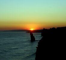 Sunsetting over the Limestone Coast - Australia by Chris Chalk