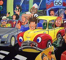 Road Rage by Arttoon