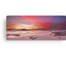 Magenta Sunset II Canvas Print