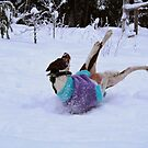 Snow fun for Lucia by Tarolino