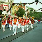 Three Trombones Led The Little Parade by TonyCrehan