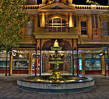 Rundle Mall Fountain - Adelaide by papertopixels