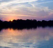 Zambezi River Sunset by Gethin