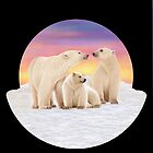 Polar Bears by Karen  Hull