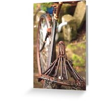 No Bike Ride Today Greeting Card