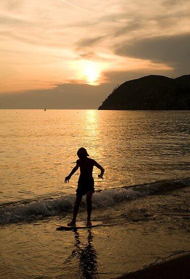 Italian sunsets by Ian Middleton