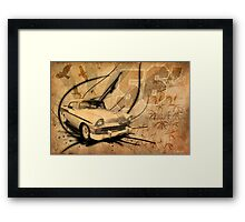 Nineteen Fifty Six [Sepia Version] Framed Print
