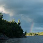 Killarney: Johnny Lake Rainbow by Skye Hohmann