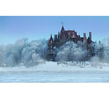 Frosted Castle Photographic Print