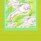 Easter Bunnies  by Donata Zawadzka