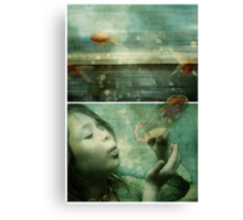 La Mer or the Power of the Imagination Canvas Print