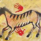 New Lascaux Horse with Hands by carolsuzanne