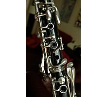 Bb Clarinet ... Old Friend Photographic Print
