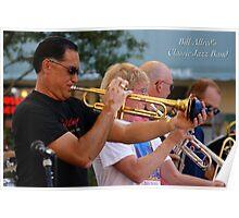Bill Allreds Classic Jazz Band Poster