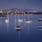 Nightfall - Geelong by Hans Kawitzki