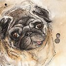 Pug by Emma  Black