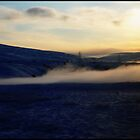 Smoking sunset by Kerry  Becker