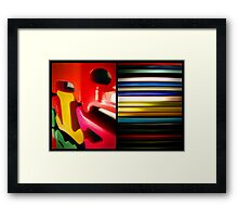 art n' craft Framed Print