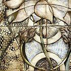 Lotus V: subtle energy (detail) by Mona Shiber