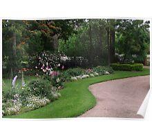 Rosalee Cottage Garden! Poster