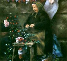 The Flower Seller by dyas