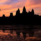 Dawn over Angkor Wat, Cambodia by Ainslie Fraser