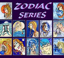 Zodiac Series by Robin Monroe