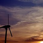 Dawn of renewable energy. by Gwoeii