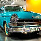 Shiny Blue Car - Birdwood Motor Museum by papertopixels