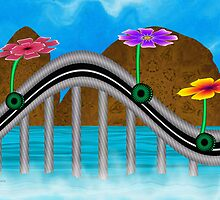 Flower Rollercoaster by lacitrouille