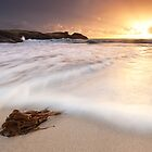 Settled but not for long - Clachtoll Bay by toonartist