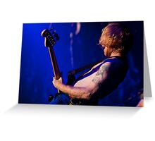 Biffy Clyro 04 Greeting Card