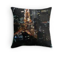 Street Star Throw Pillow