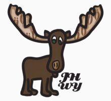 Jackson hole Moose by jhprints