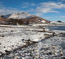 Embsay Crag In Winter by SteveMG