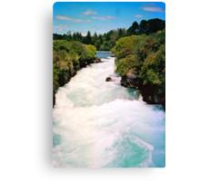Haku Falls New Zealand Canvas Print