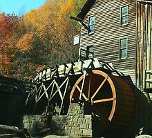Glade Creek Grist Mill - Babcock State Park by Colleen Jarrell