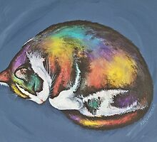 She Purrs In Color by Beth Clark-McDonal