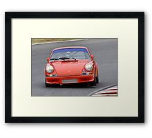 Porsche 911 - Eastern Creek Tasman Revival 2010 Framed Print