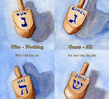 How to Play Dreidel by Amy-Elyse Neer