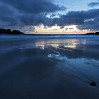 Time for Reflection - Clachtoll Bay Scotland by toonartist