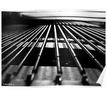 Inside a Baby Grand Piano Poster